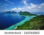 scenic view tun sakaran marine... | Shutterstock . vector #166566860