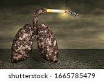 Disease Lungs Smoking A...