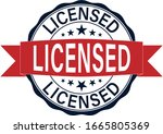 official licensed icon web... | Shutterstock .eps vector #1665805369