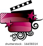 grunge film background for text ...