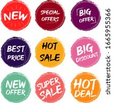 vector illustration bundles... | Shutterstock .eps vector #1665955366