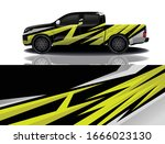 truck car wrapping decal design | Shutterstock .eps vector #1666023130