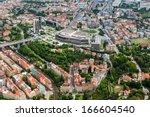 Prague Congress Center From Sky