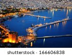 view of alanya harbor from...