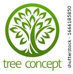 A Stylised Tree Circular...