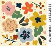 illustration vector eps print... | Shutterstock .eps vector #1666218556