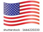 united states of america flag... | Shutterstock .eps vector #1666220233