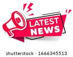 banner news feed with a... | Shutterstock .eps vector #1666345513