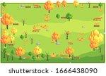 map bright orange nature...