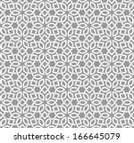 ornamental seamless pattern.... | Shutterstock .eps vector #166645079