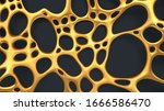 luxury abstract gold background.... | Shutterstock .eps vector #1666586470