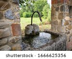 Snake Shaped Water Fountain In...