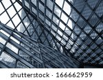 abstract building construction | Shutterstock . vector #166662959