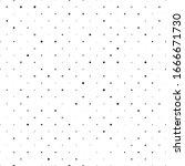 seamless polka dot pattern.... | Shutterstock .eps vector #1666671730