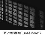 Black White Quadratic Shadow On ...