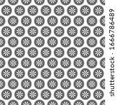 seamless pattern geometric... | Shutterstock .eps vector #1666786489