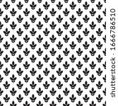 seamless pattern.black and... | Shutterstock .eps vector #1666786510
