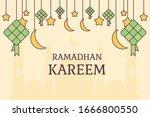 vector illustration ramadan or...