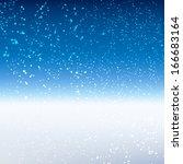 winter background. ...   Shutterstock . vector #166683164