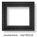 Picture Frame Black Wood Frame...