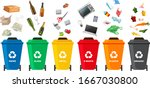 vector grouping of items that...   Shutterstock .eps vector #1667030800