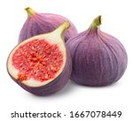 Fig Isolated On White...