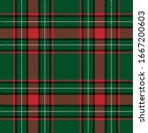 tartan plaid seamless pattern... | Shutterstock .eps vector #1667200603