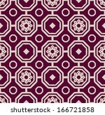 a vector vintage simple square... | Shutterstock .eps vector #166721858
