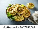 Puff Pastry Roll With Pesto...