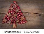 Christmas Tree Made Of Cinnamo...