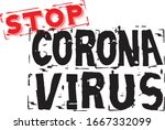 coronavirus 2020. wuhan virus... | Shutterstock .eps vector #1667332099