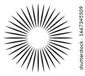 radial   radiating lines burst...   Shutterstock .eps vector #1667345509