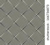 seamless vector geometric... | Shutterstock .eps vector #166736873