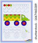 educational page for kids.... | Shutterstock .eps vector #1667460289