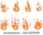 fire assets version 1  can be... | Shutterstock .eps vector #1667635939