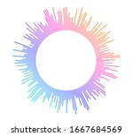 color equalizer isolated on... | Shutterstock .eps vector #1667684569