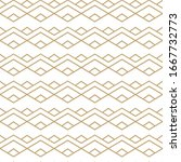 simple geometric pattern with... | Shutterstock .eps vector #1667732773