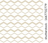 abstract geometric pattern with ... | Shutterstock .eps vector #1667732779