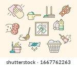 vector illustration of a... | Shutterstock .eps vector #1667762263