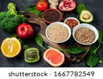Selection Of Healthy Food  ...