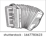 Accordion In Simple Style...