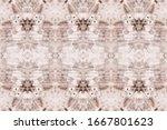 brown tie dye grunge. pink... | Shutterstock . vector #1667801623