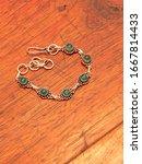 Green Onyx Bead Bracelet In...