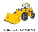 Big Bulldozer  Wheel Loader...