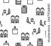 home brewing beer seamless... | Shutterstock .eps vector #1667926840