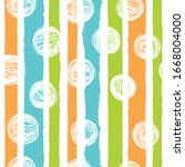 simple vertical striped and... | Shutterstock .eps vector #1668004000