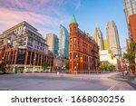 Downtown Toronto City Skyline...
