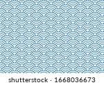 vector background of blue...   Shutterstock .eps vector #1668036673