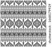 traditional motifs seamless... | Shutterstock .eps vector #1668179929