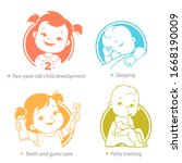 Set Of Child Health And...